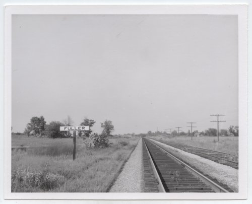 Kansas City Southern sign board, Fuller, Kansas - Page