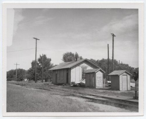 St. Louis-San Francisco Railway box depot, Arkansas City, Kansas - Page
