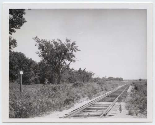 Atchison, Topeka and Santa Fe Railway Company sign board, Utopia, Kansas - Page