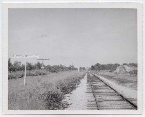 St. Louis-San Francisco Railway sign board, Litchfield, Kansas - Page