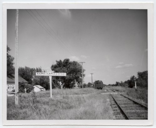 St. Louis-San Francisco Railway sign board, Monmouth, Kansas - Page