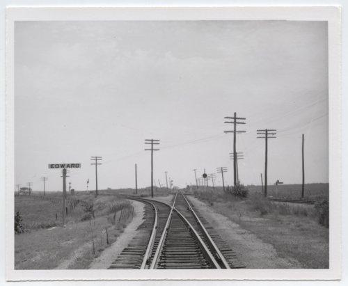 St. Louis-San Francisco Railway sign board, Edward, Kansas - Page