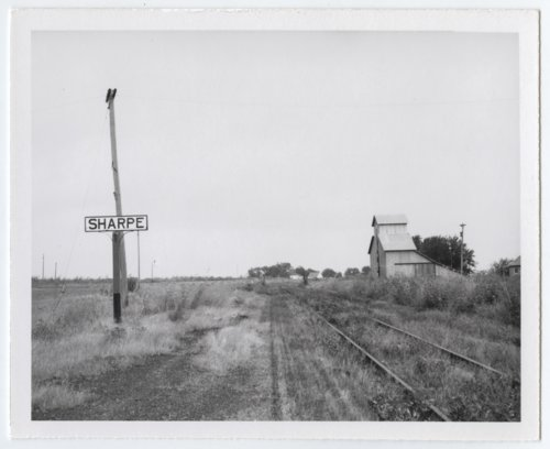 Atchison, Topeka and Santa Fe Railway Company sign board, Sharpe, Kansas - Page