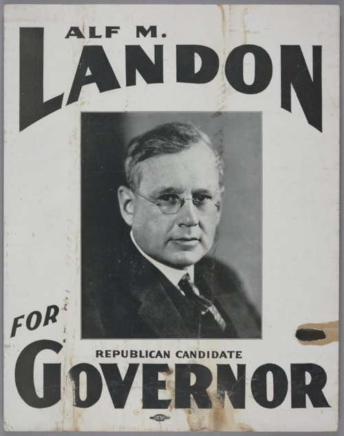 Alf M. Landon for Governor - Page