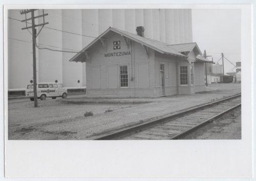 Atchison, Topeka & Santa Fe Railway Company depot, Montezuma, Kansas - Page