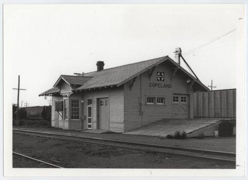 Atchison, Topeka & Santa Fe Railway Company depot, Copeland, Kansas - Page