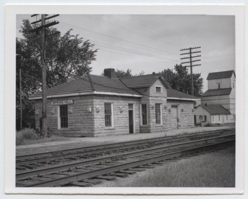 St. Louis-San Francisco Railway depot, Spring Hill, Kansas - Page