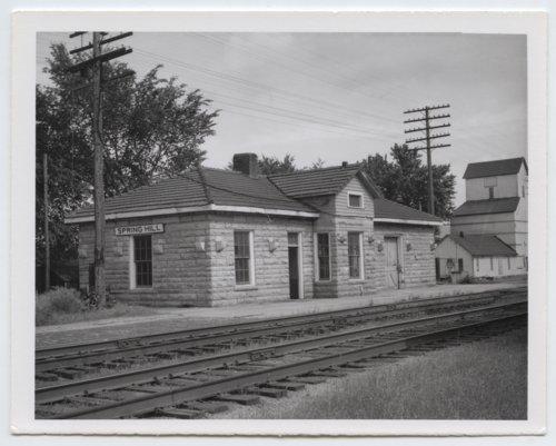 St. Louis-San Francisco Railway depot, Spring Hill, Kansas - Page