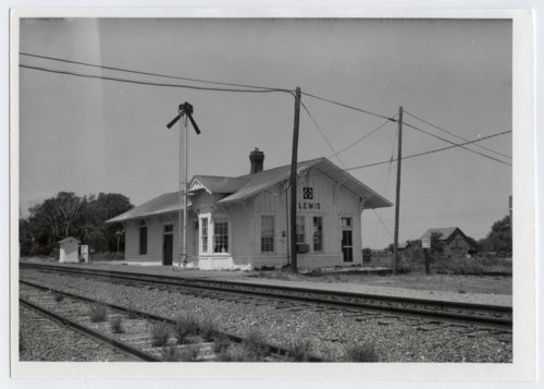 Atchison, Topeka and Santa Fe Railway Company depot, Lewis, Kansas - Page
