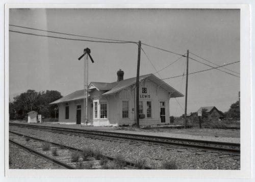 Atchison, Topeka & Santa Fe Railway Company depot, Lewis, Kansas - Page