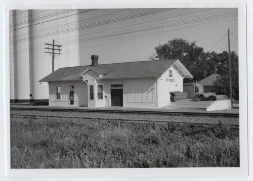 Atchison, Topeka & Santa Fe Railway Company depot, Offerle, Kansas - Page