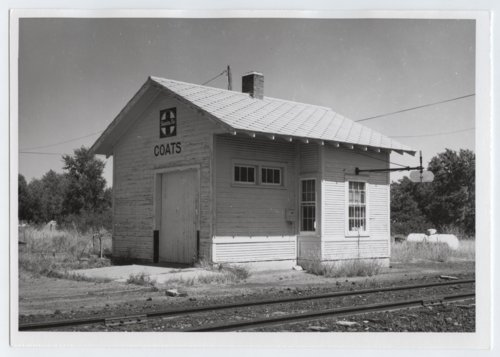 Atchison, Topeka and Santa Fe Railway Company depot, Coats, Kansas - Page