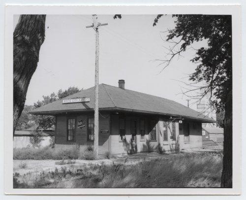 Missouri-Kansas-Texas Railroad depot, White City, Kansas - Page