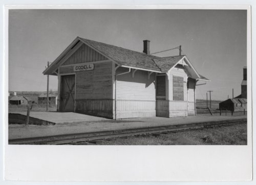 Union Pacific Railroad Company depot, Codell, Kansas - Page