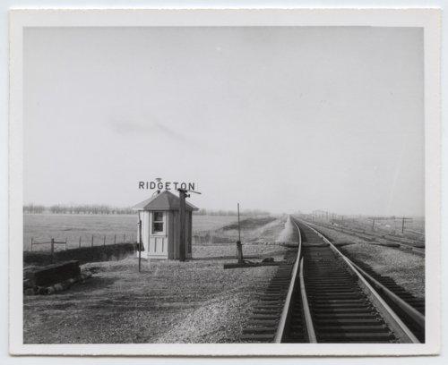 Atchison, Topeka and Santa Fe Railway Company box depot, Ridgeton, Kansas - Page