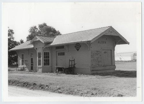 Atchison, Topeka and Santa Fe Railway Company depot, Alden, Kansas - Page