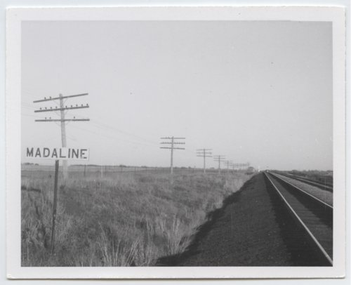 Missouri Pacific Railroad Company's sign board, Madaline, Kansas - Page