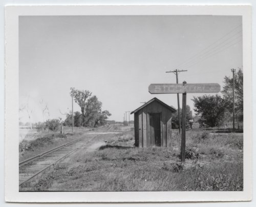 Union Pacific Railroad Company's shed depot, Stockdale, Kansas - Page