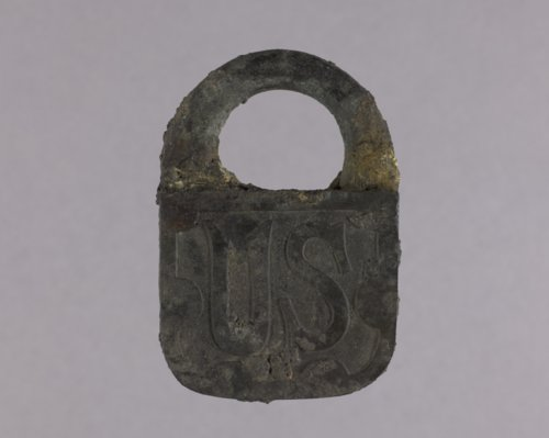 United State Padlock from the Kaw Mission - Page