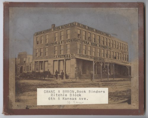 Crane and Byron Book Binders, Topeka, Kansas - Page