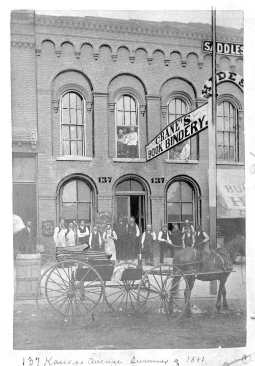Crane's Book Bindery, Topeka, Kansas - Page