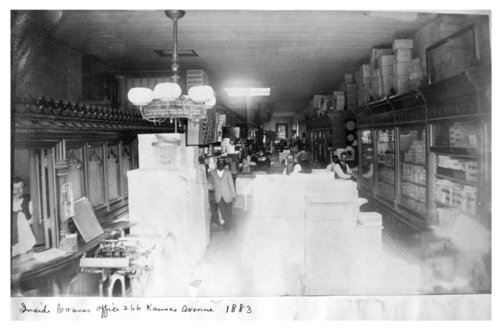 Interior of the Crane and Company business, Topeka, Kansas - Page