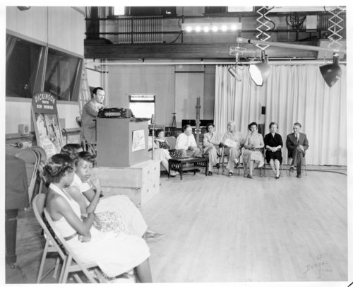 Interior views of the WIBW-TV studio, Topeka, Shawnee County - Page