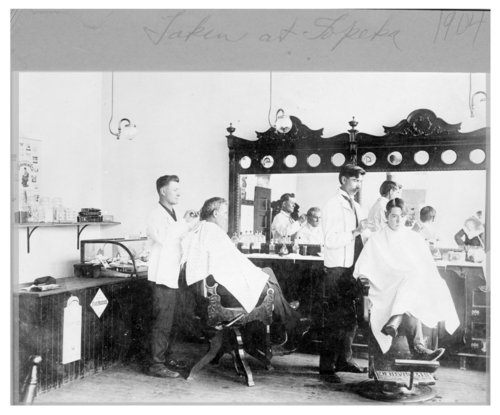 Barber shop, Topeka, Shawnee County - Page