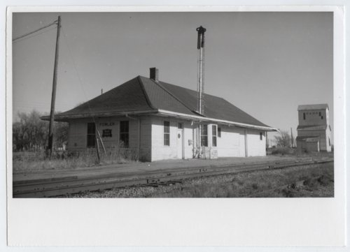 Chicago, Rock Island & Pacific Railroad depot, Fowler, Kansas - Page