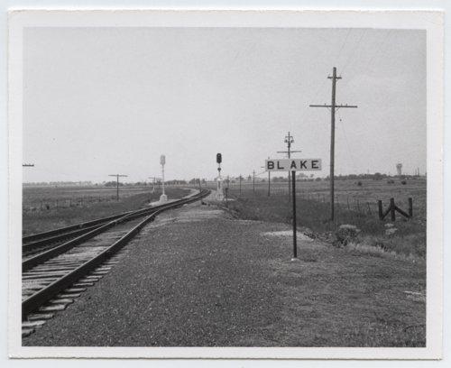 Missouri Pacific Railroad Company's sign board, Blake, Kansas - Page