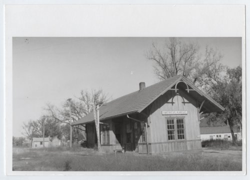 Missouri-Kansas-Texas Railroad depot, Americus, Kansas - Page