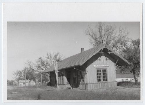 Missouri-Kansas-Texas Railroad depot, Americus, Kansas - Page