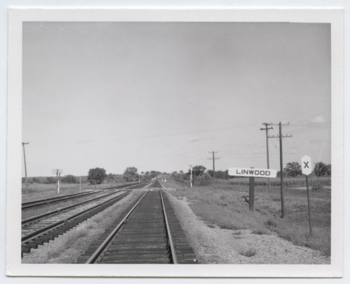Union Pacific Railroad Company crossing, Linwood, Kansas - Page