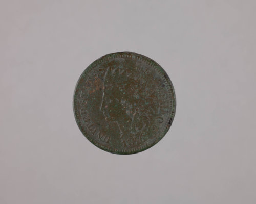 1876 Penny from the Kaw Mission - Page