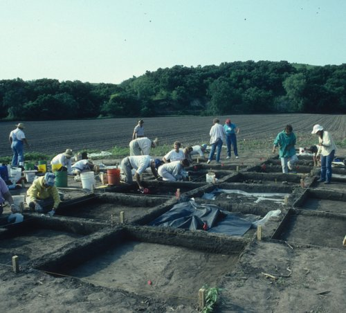 Excavations at the Wollenberg Site - Page