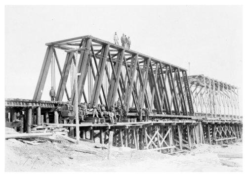 Railroad bridge, Clearwater, Kansas - Page