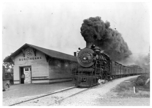 Atchison, Topeka & Santa Fe Railway Company depot, Burlingame, Kansas - Page
