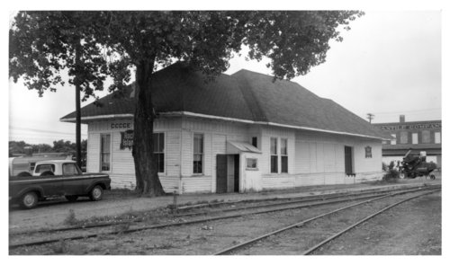 Chicago, Rock Island & Pacific Railroad depot, Dodge City, Kansas - Page
