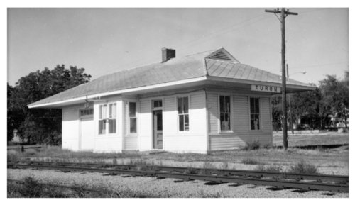 Missouri Pacific Railroad depot, Turon, Kansas - Page