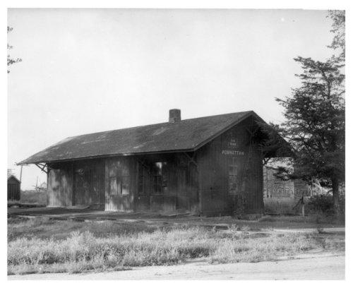 Chicago, Rock Island & Pacific Railroad depot, Powhattan, Kansas - Page