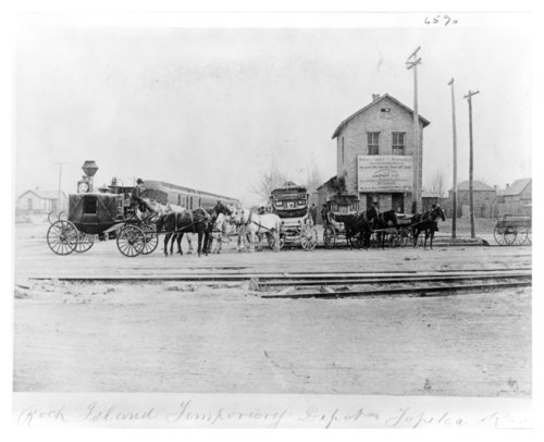 Chicago, Rock Island & Pacific Railroad, Topeka, Kansas - Page