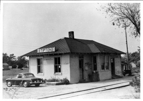 Atchison, Topeka and Santa Fe Railway Company depot, Tipton, Kansas - Page