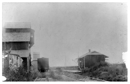 Atchison, Topeka & Santa Fe Railway Company depot, Portland, Kansas - Page