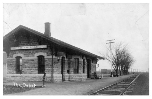 Union Pacific Railroad Company depot, Silver Lake, Kansas - Page