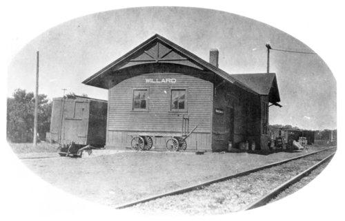 Chicago, Rock Island & Pacific Railroad depot, Willard, Kansas - Page