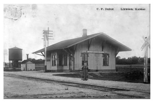 Union Pacific Railroad Company depot, Linwood, Kansas - Page