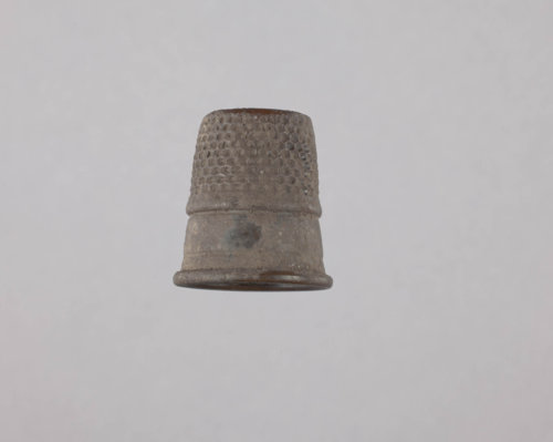 Thimble from the Kaw Mission - Page