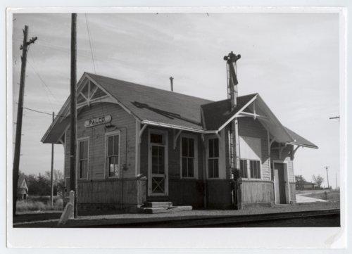 Union Pacific Railroad Company depot, Palco, Kansas - Page