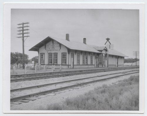 Atchison, Topeka and Santa Fe Railway Company depot, Carbondale, Kansas - Page