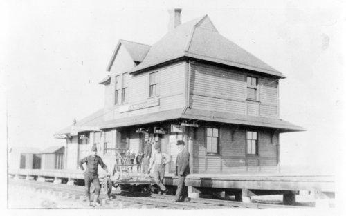 Chicago, Rock Island & Pacific Railroad depot, Langdon, Kansas - Page